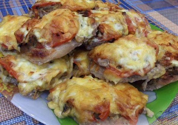 готовое мясо по французски
